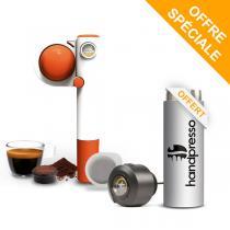 Handpresso - Pack Machine Handpresso Pump Pop orange et Thermo Flask