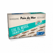 Pain de Mer - Foie de morue Bio finement fumé 120g