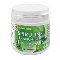 Vecteur Santé - Spiruline Française bio 120 comprimés