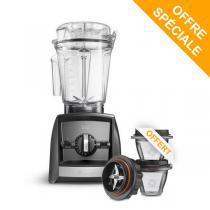 Vitamix - Pack Blender Ascent A2500i Ardoise et Bols 225ml