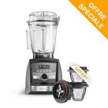 Vitamix - Pack Blender Ascent A3500i Nickel et Bols 225ml