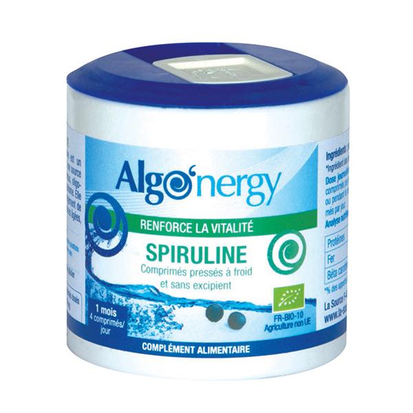 Algo'nergy - Spiruline 150 comprimés