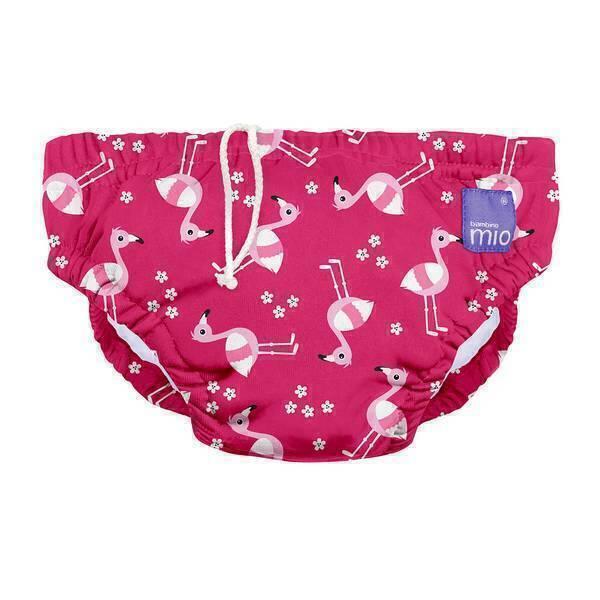 Bambino Mio - Couche de bain Flamant rose - Taille S (5-7 kg)