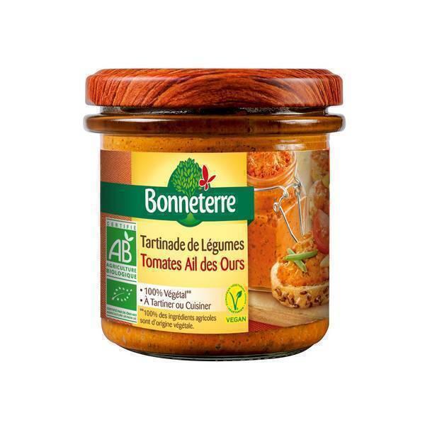 Bonneterre - Tartinade de légumes Ail des ours 135g