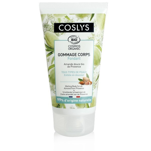 Coslys - Gommage corps fondant - Amande douce 150g
