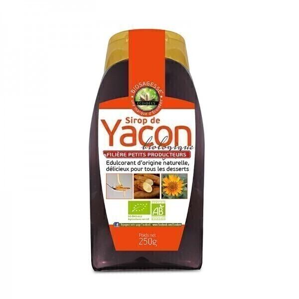 Ecoidées - Sirop de Yacon bio équitable - 250 g