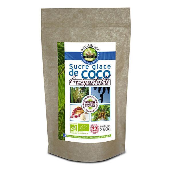Ecoidées - Sucre glace de coco équitable 250g