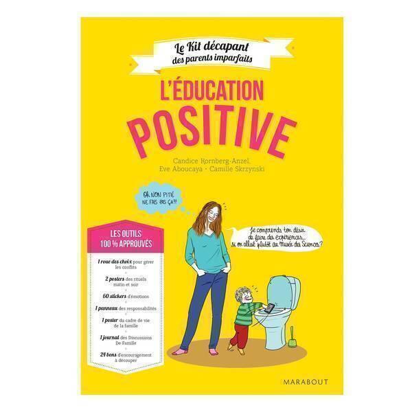 """Editions Marabout - Livre """"L'éducation positive"""" Edition deluxe avec matériel"""
