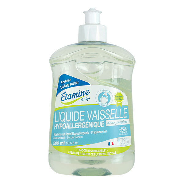 Etamine du Lys - Liquide vaisselle hypoallergénique 500ml