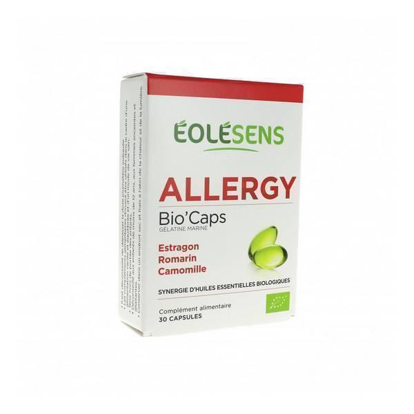 Eolesens - Allergy Bio'Caps - Synergie d'Huiles Essentielles x 30