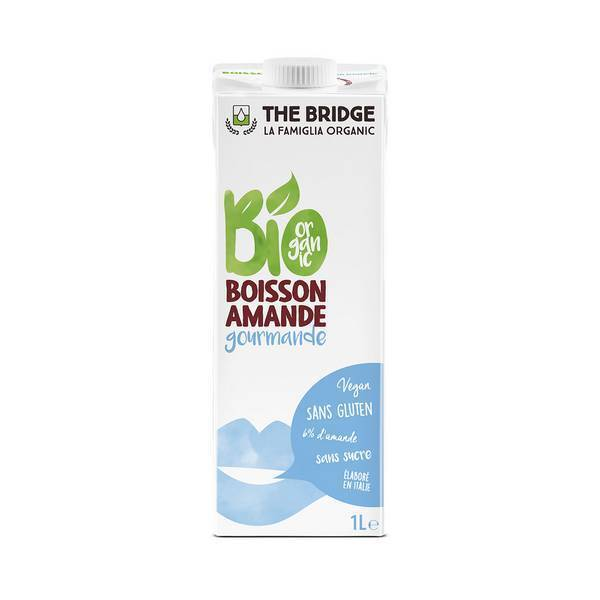 The Bridge - Boisson végétale Amande gourmande 1L