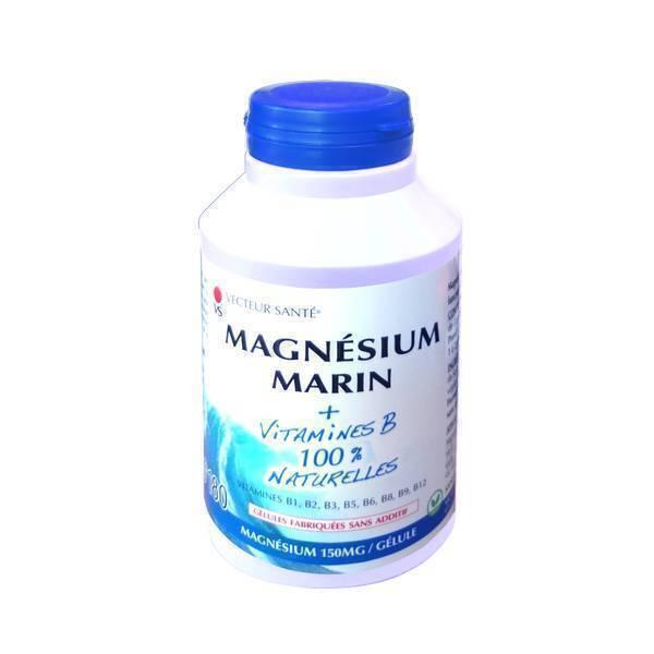 Vecteur Santé - Mag'activ maxi cure 180 gélules