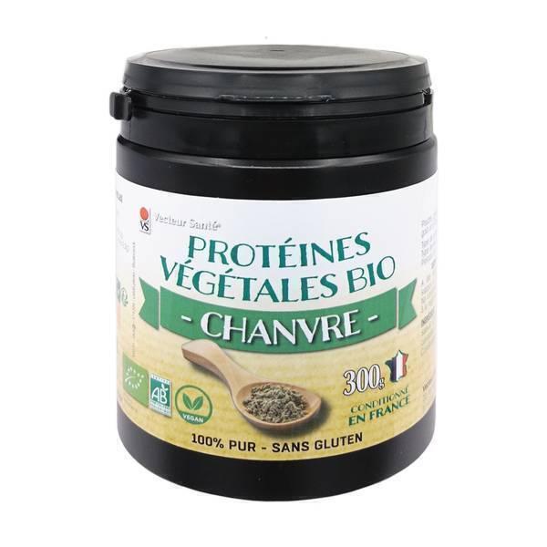 Vecteur Santé - Protéines de Chanvre bio 300 G