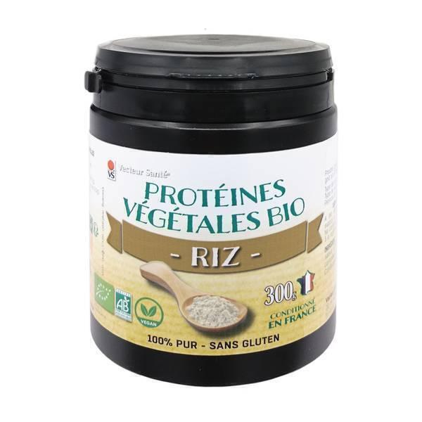 Vecteur Santé - Protéines de Riz bio 300 G