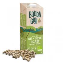 Babbagigi - Boisson riz et noix tigrée 1l