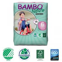 Bambo Nature - Pack 6x18 Culottes d'apprentissage XL Plus - 18kg+ T6
