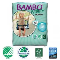 Bambo Nature - Pack 8x20 Culottes d'apprentissage jetables T5 12-20kg