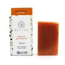 Belice - Savon Délice de fruits - Agrumes et karité 100g