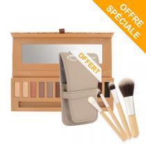 Couleur Caramel - Palette eye essential + 1Kit pinceau offert