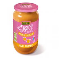 Danival - Dessert pomme abricot 1.05kg