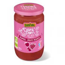 Danival - Dessert Pomme-fruits rouges - 700g