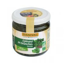 Danival - Epinards en branche en bocal - 340g
