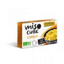 Danival - Miso curry - 8 cubes de 10g