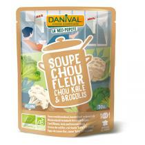 Danival - Soupe au Chou-fleur kale et brocolis - 50cl