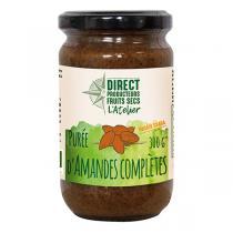 Direct producteurs Fruit secs - Purée d'amandes complètes 300g