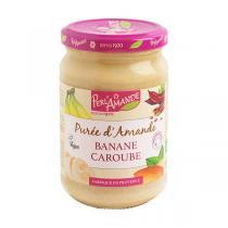 Perlamande - Purée d'amande Banane caroube - 300g