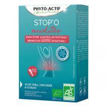 Phyto-Actif - Stop'O Acidités x 10 sticks