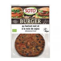 Soto - Burger haricot noir et cajou 2x80g