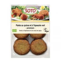 Soto - Palets au quinoa et épeautre vert 195g