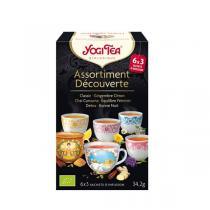 Yogi Tea - Assortiment Découverte Infusions Bio -18 sachets