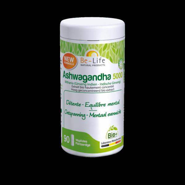 Be-Life - Ashwagandha 500 - 90 gélules