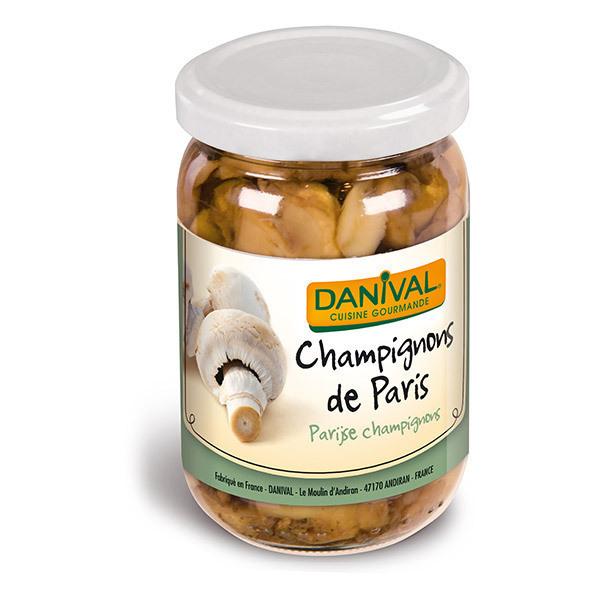 Danival - Champignons de Paris émincés en bocal - 200g