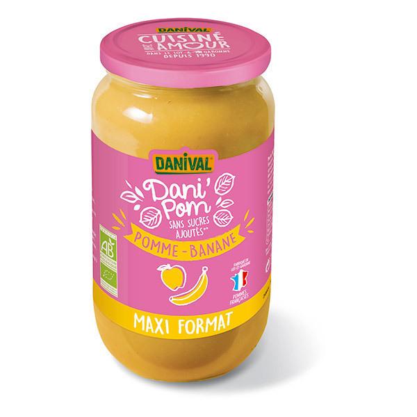 Danival - Dessert Pomme-banane- 1.05kg