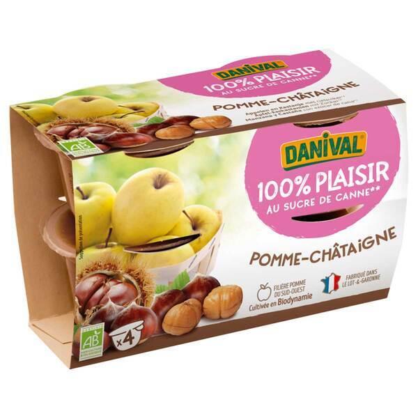 Danival - Dessert Pomme-châtaigne - 400g