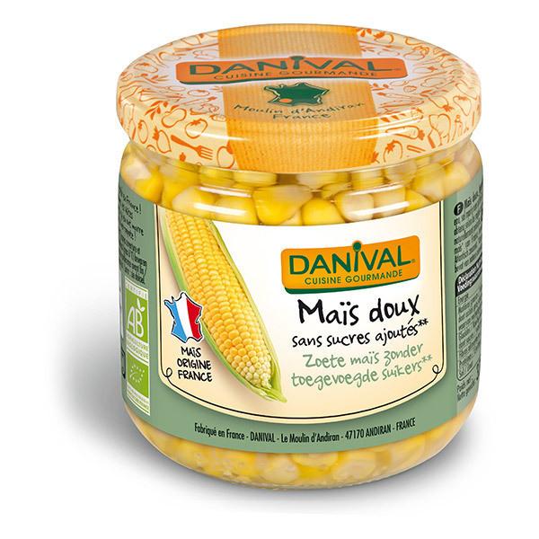 Danival - Maïs doux en bocal - 370g