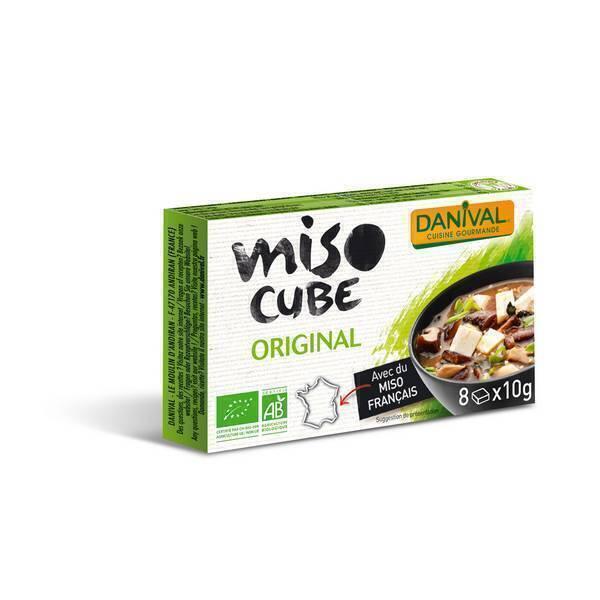 Danival - Miso Original - 8 cubes de 10g