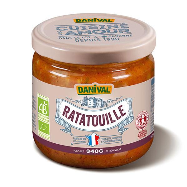 Danival - Ratatouille bio solidaire 340g