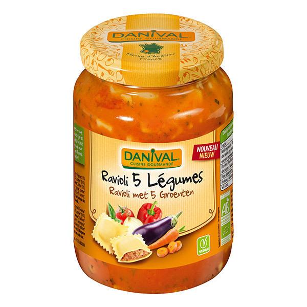 Danival - Ravioli 5 légumes 670g