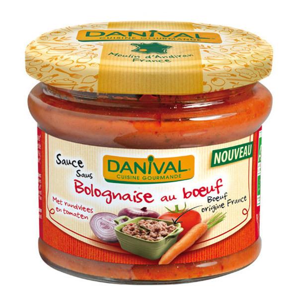Danival - Sauce Bolognaise au boeuf - 210g