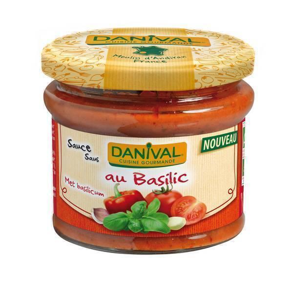 Danival - Sauce tomate au Basilic - 210g