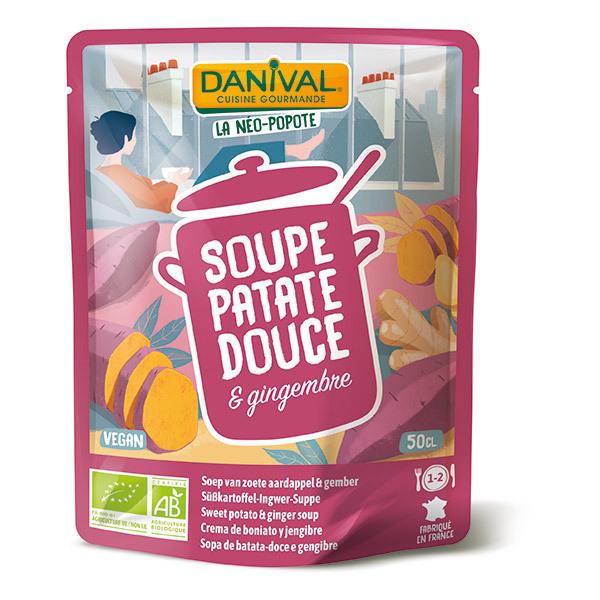 Danival - Soupe de patate douce et gingembre 50cl