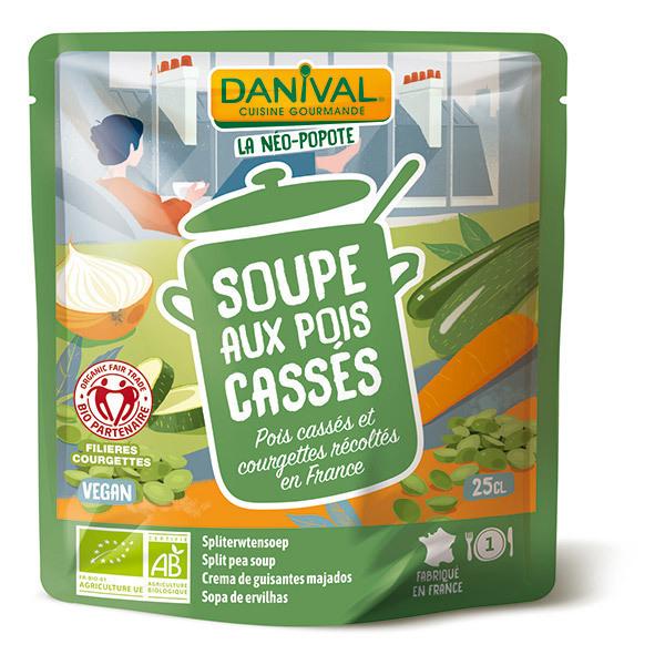 Danival - Soupe de pois cassés 25cl