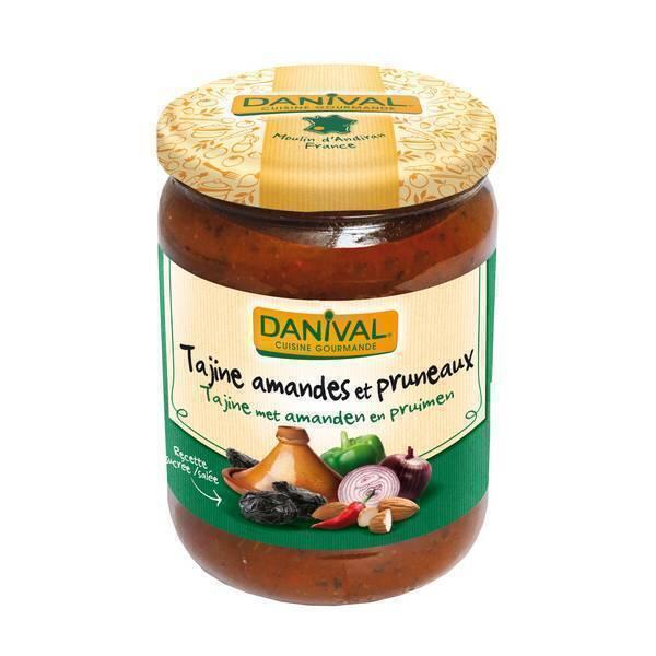 Danival - Tajine aux amandes & pruneaux 525g