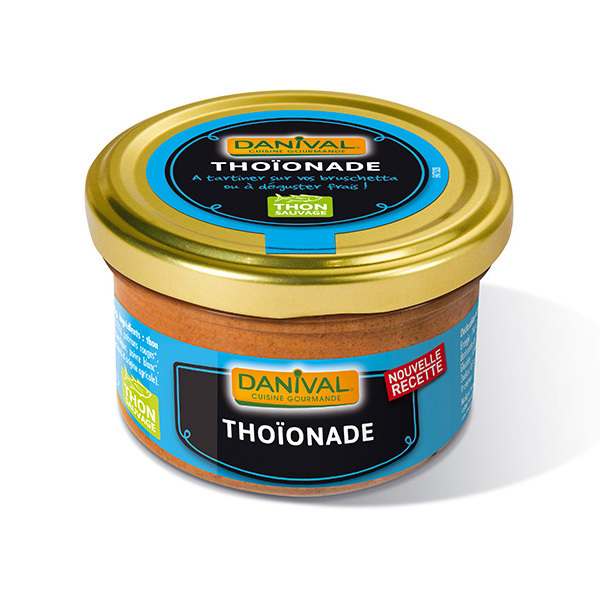 Danival - Tartinade de Thoïonade - 100g