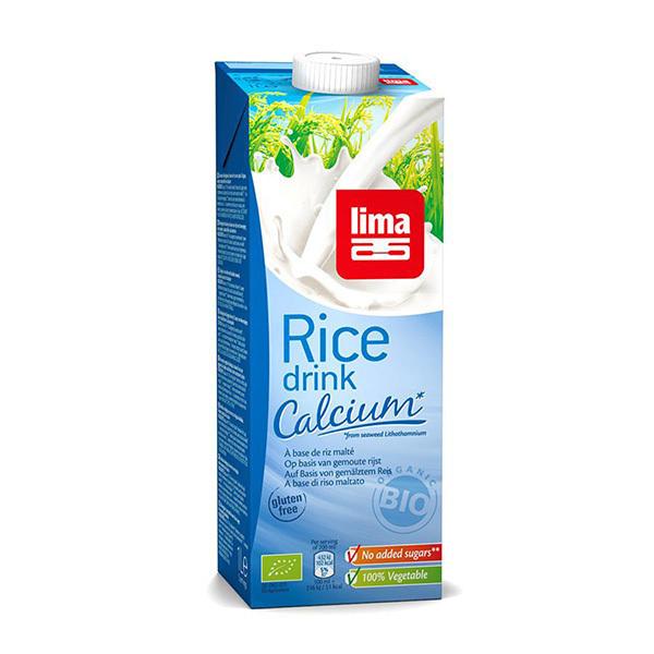 Lima - Boisson végétale Riz Calcium 1L