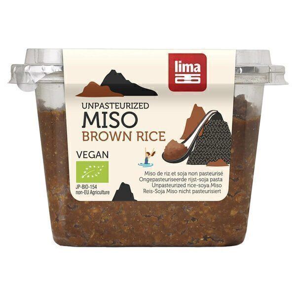 Lima - Miso de riz brun non pasteurisé 300g